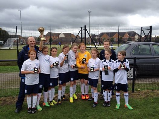 Euxton tournament 30/08/14 u11s with medals