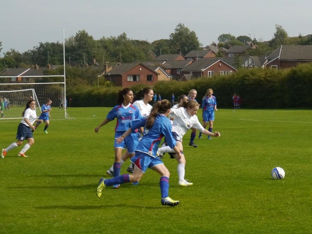 U16's V Blackburn CSC lost 2-1
