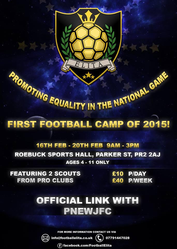 elite football camp
