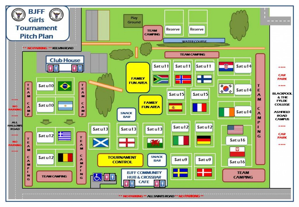 BJFF GIRLS Tournament 2015 - Gala Field Pitch Map ISSUED v1.0
