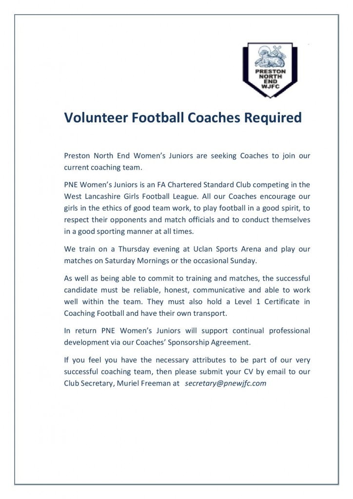 Volunteer Football Coach advert-page-001