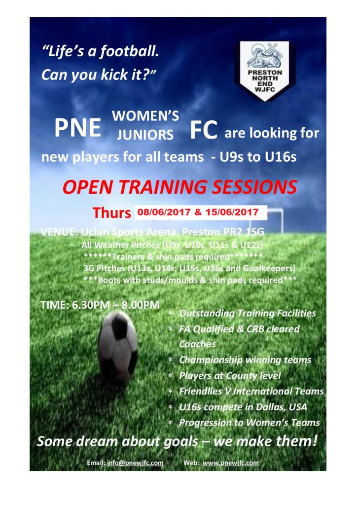 2017 open training original