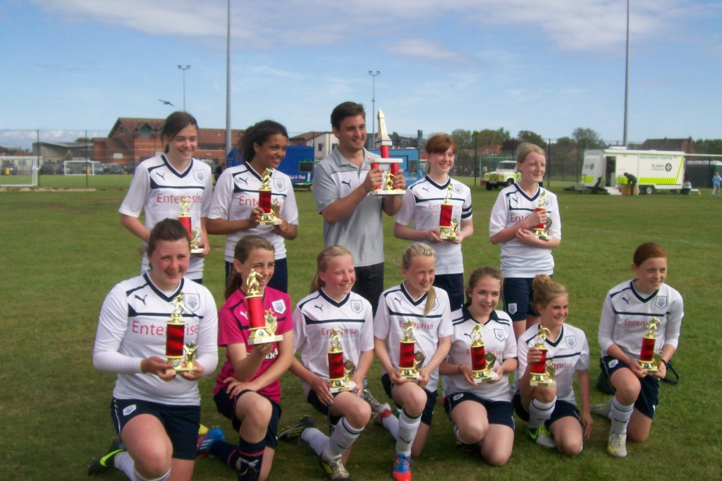 U13 2012-3 Blackpool tournament winners